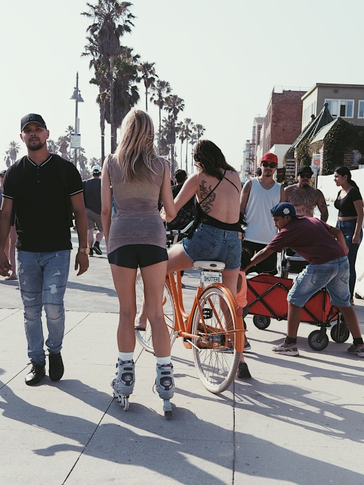 board walk Venice Beach - Roller