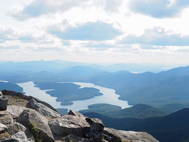 WhiteFace Mountain lake view adirondacks