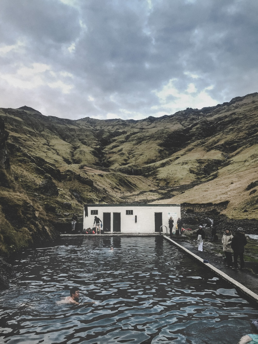 Seljavallalaug swimming pool Iceland