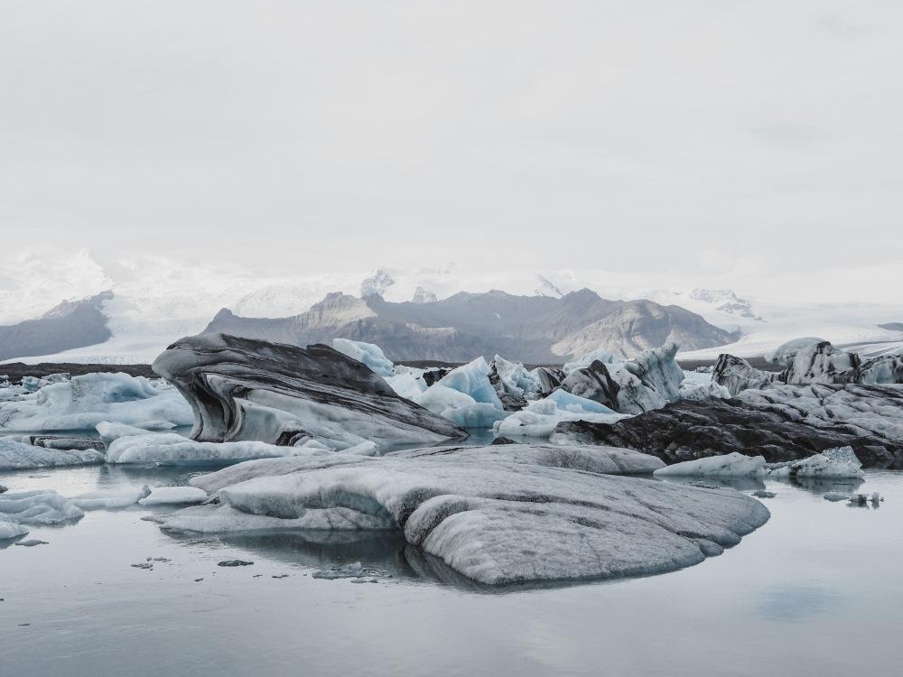 Glacier Jokulsarson Iceland Panorama